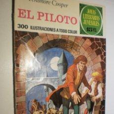 Tebeos: FEMINORE COOPER EL PILOTO JOYAS LITERARIAS JUVENILES Nº 57 1972 (ESTADO NORMAL). Lote 173976937