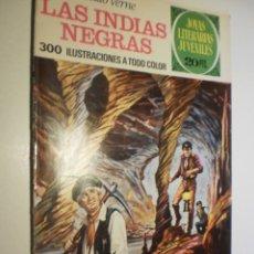 Tebeos: JULIO VERNE. LAS INDIAS NEGRAS JOYAS LITERARIAS JUVENILES Nº 131 1975 (ESTADO NORMAL). Lote 173977043