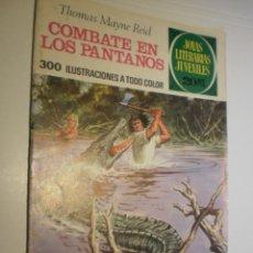 Tebeos: THOMAS MAYNE REID COMBATE EN LOS PANTANOS JOYAS LITERARIAS JUVENILES Nº 143 1975 (ESTADO NORMAL). Lote 173977528