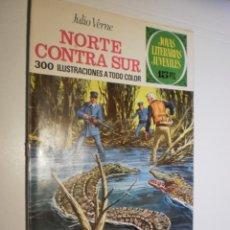Livros de Banda Desenhada: JULIO VERNE NORTE CONTRA SUR. JOYAS LITERARIAS JUVENILES Nº 56 1972 (ESTADO NORMAL). Lote 173977773