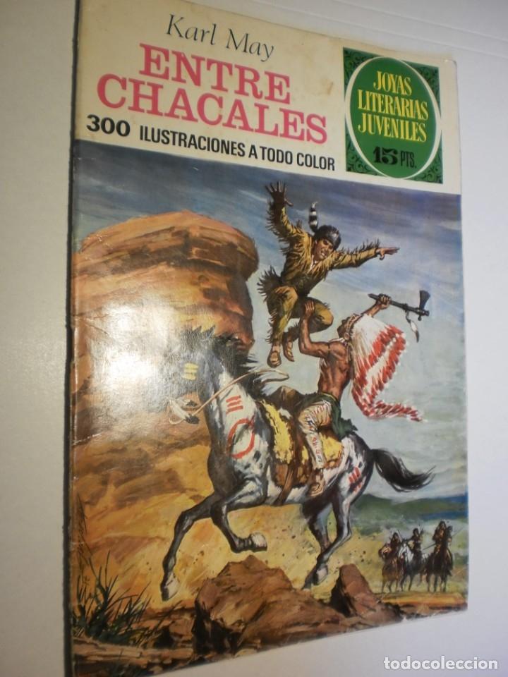 KARL MAY ENTRE CHACALES JOYAS LITERARIAS JUVENILES Nº 45 1972 (ESTADO NORMAL) (Tebeos y Comics - Bruguera - Joyas Literarias)