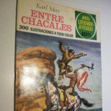 Tebeos: KARL MAY ENTRE CHACALES JOYAS LITERARIAS JUVENILES Nº 45 1972 (ESTADO NORMAL). Lote 173977855