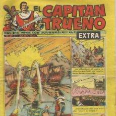 Tebeos: EL CAPITAN TRUENO - EL GENIO MALEFICO - 37 - EXTRA - ORIGINAL. Lote 173992019