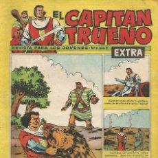 Tebeos: EL CAPITAN TRUENO - TIERRA DE ESCLAVOS - 21 - EXTRA - ORIGINAL. Lote 173992733