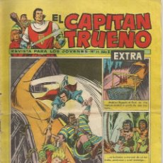 Tebeos: EL CAPITAN TRUENO - EXTRAÑA AVENTURA - 36 - EXTRA - ORIGINAL. Lote 173992830