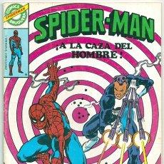 Tebeos: SPIDER-MAN, 9: ¡A LA CAZA DEL HOMBRE! / COMICS BRUGUERA - SPIDERMAN - 03/1981. Lote 173998930