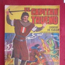 Tebeos: ELCAPITAN TRUENO ALBUM GIGANTE Nº 38. CERCO DE FUEGO. Lote 174046204