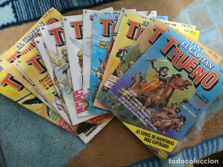 CAPITÁN TRUENO BRUGUERA COMPLETA 12 NÚMEROS. (Tebeos y Comics - Bruguera - Capitán Trueno)