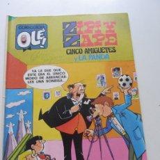 Tebeos: ZIPI Y ZAPE OLÉ Nº 176 CINCO AMIGUETES Y LA PANDA ED BRUGUERA CX20. Lote 174095754