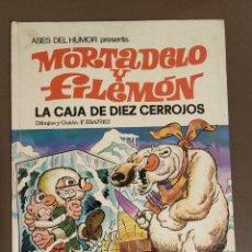 Tebeos: MORTADELO Y FILEMON LA CAJA DE DIEZ CERROJOS SEGUNDA EDICION, NUMERO 11. Lote 174101528