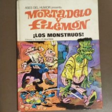 Tebeos: MORTADELO Y FILEMON, ¡ LOS MONSTRUOS! SEGUNDA EDICION, NUMERO 25. Lote 174101574