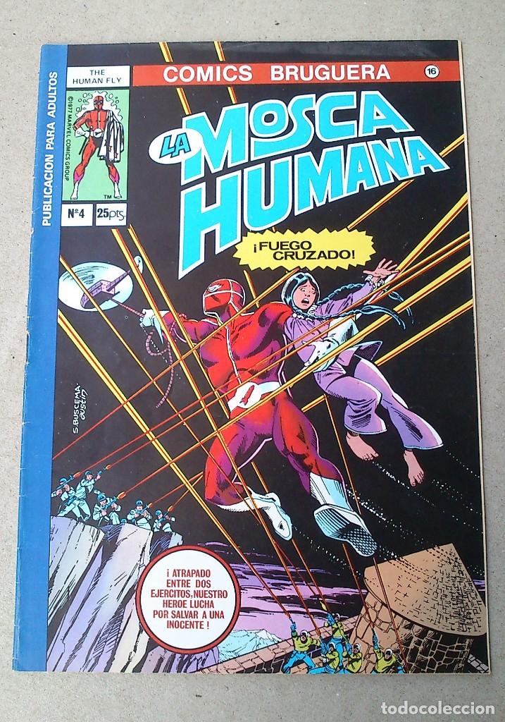 LA MOSCA HUMANA N 4 (Tebeos y Comics - Bruguera - Otros)