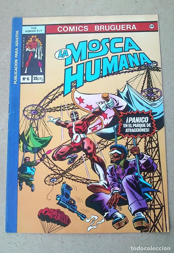 LA MOSCA HUMANA N 6 (Tebeos y Comics - Bruguera - Otros)