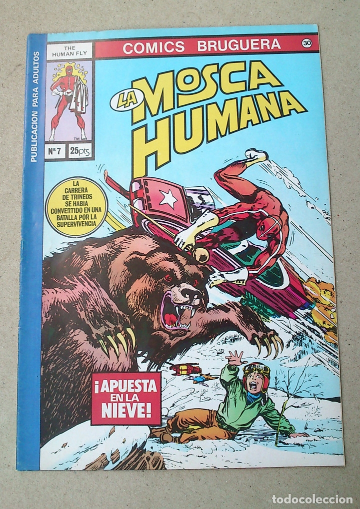 LA MOSCA HUMANA N 7 (Tebeos y Comics - Bruguera - Otros)