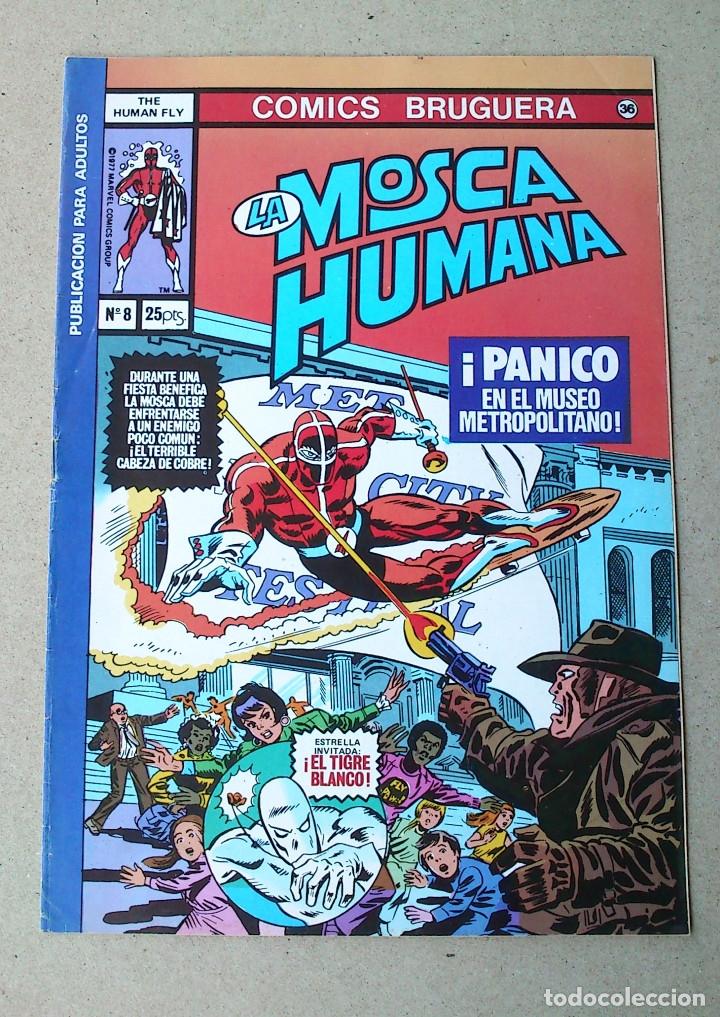 LA MOSCA HUMANA N 8 (Tebeos y Comics - Bruguera - Otros)