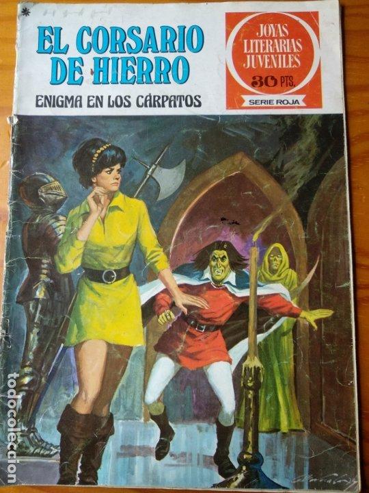 EL CORSARIO DE HIERRO Nº 20, ENIGMA EN LOS CARPATOS - JOYAS LITERARIAS JUVENILES SERIE ROJA - (Tebeos y Comics - Bruguera - Corsario de Hierro)