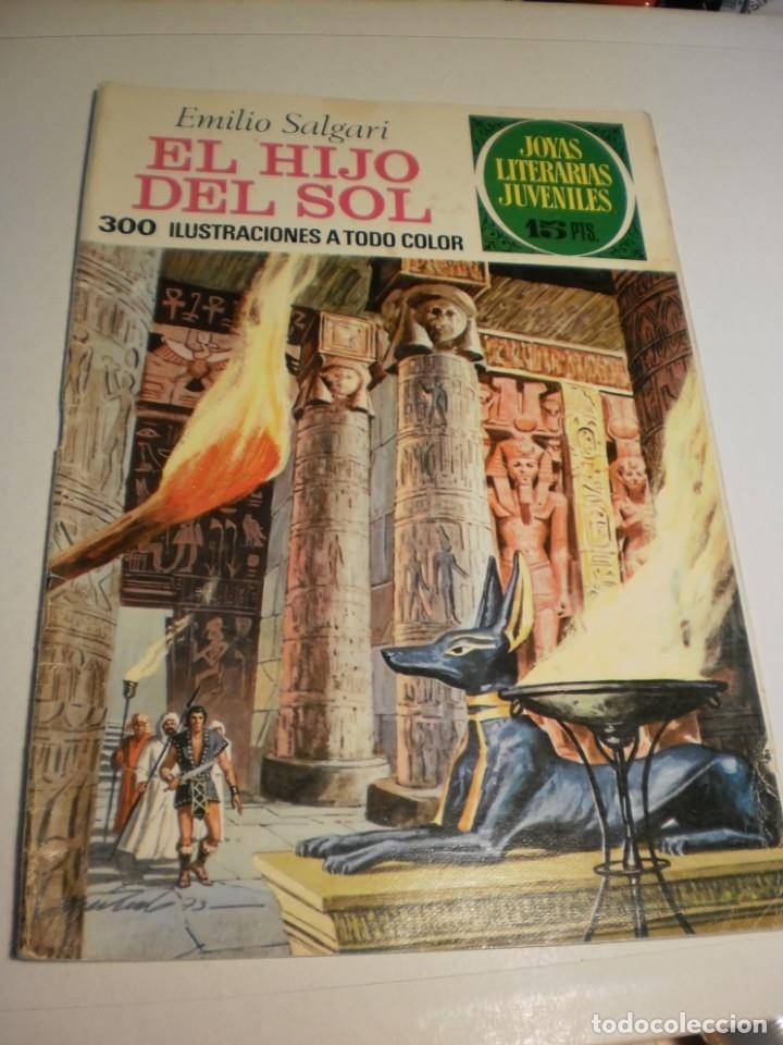 EMILIO SALGARI EL HIJO DEL SOL JOYAS LITERARIAS JUVENILES 83 1973 (ESTADO NORMAL) (Tebeos y Comics - Bruguera - Joyas Literarias)