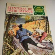 Livros de Banda Desenhada: ROBERT L STEVENSON AVENTURAS DE DAVID BALFOUR JOYAS LITERARIAS JUVENILES 82 1973 (ESTADO NORMAL). Lote 174173807