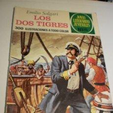 Livros de Banda Desenhada: EMILIO SALGARI. LOS DOS TIGRES JOYAS LITERARIAS JUVENILES 81 1973 (ESTADO NORMAL). Lote 174174225