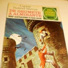 Livros de Banda Desenhada: CAPITÁN FREDERICK MARRYAT. DE GRUMETE A ALMIRANTE JOYAS LITERARIAS JUVENILES 50 1972 (ESTADO NORMAL). Lote 174175739