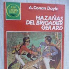Tebeos: JOYAS LITERARIAS JUVENILES. Nº 267. HAZAÑAS DEL BRIGADIER GERARD. BRUGUERA. Lote 186448828