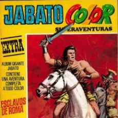 Tebeos: JABATO COLOR EXTRA Nº 1 TERCERA EPOCA - ESCLAVOS DE ROMA. Lote 174222748