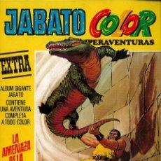 Tebeos: JABATO COLOR EXTRA Nº 7 TERCERA EPOCA - LA AMENAZA DE LA MOMIA. Lote 174223214