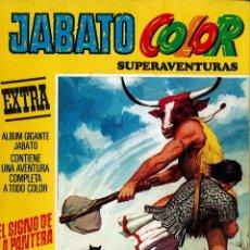 Tebeos: JABATO COLOR EXTRA Nº 8 TERCERA EPOCA - EL SIGNO DE LA PANTERA. Lote 174223295