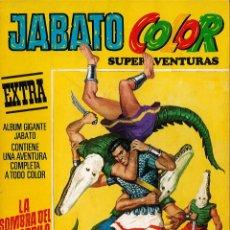 Tebeos: JABATO COLOR EXTRA Nº 9 TERCERA EPOCA - LA SOMBRA DEL COCODRILO. Lote 174223543