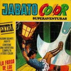 Tebeos: JABATO COLOR EXTRA Nº 11 TERCERA EPOCA - LA FARSA DE LOS HAINIS. Lote 174223677