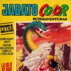 Tebeos: JABATO COLOR EXTRA Nº 12 TERCERA EPOCA - LA ISLA DE RAA. Lote 174223769