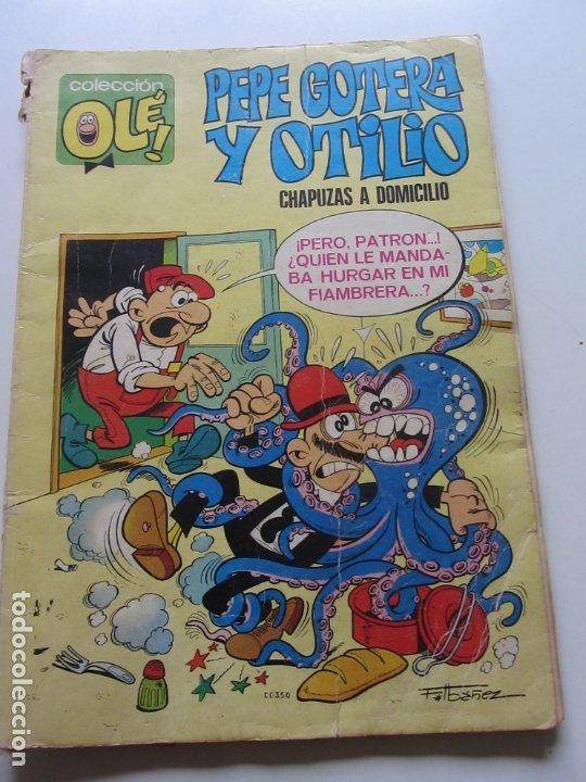 COLECCION OLE PEPE GOTERA Y OTILIO CHAPUZAS A DOMICILIO Nº 1 BRUGUERA 1. EDICION CX20 (Tebeos y Comics - Bruguera - Ole)