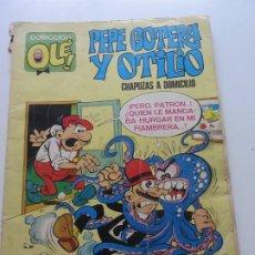Tebeos: COLECCION OLE PEPE GOTERA Y OTILIO CHAPUZAS A DOMICILIO Nº 1 BRUGUERA 1. EDICION CX20. Lote 174224747
