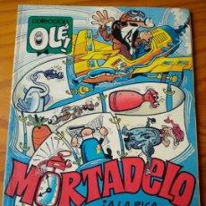 Livros de Banda Desenhada: MORTADELO Y FILEMON, TODO PORTADAS - COLECCION OLE! Nº 384 -M 198- EDICIONES B 1991. Lote 174245922