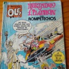 BDs: MORTADELO Y FILEMON, CON ROMPETECHOS- COLECCION OLE! Nº 290- BRUGUERA 1984-. Lote 174246020