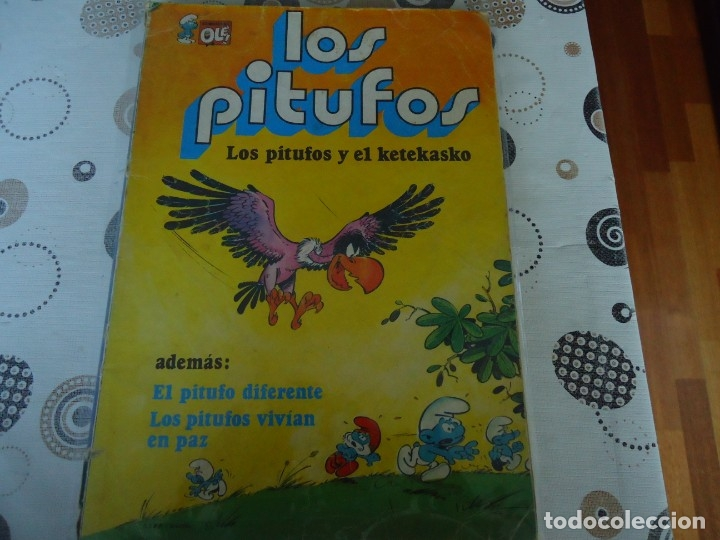 COLECCION OLE LOS PITUFOS Nº 6 (Tebeos y Comics - Bruguera - Ole)