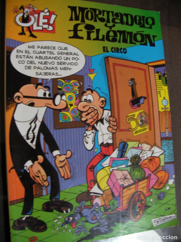 MORTADELO Y FILEMON - EL CIRCO (Tebeos y Comics - Bruguera - Mortadelo)