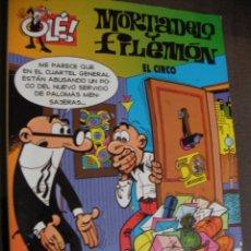 Tebeos: MORTADELO Y FILEMON - EL CIRCO. Lote 174265103