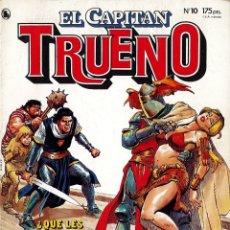 Tebeos: EL CAPITAN TRUENO Nº 10 . Lote 174281812