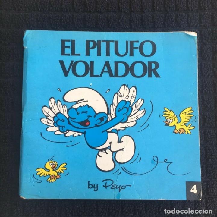 MINICUENTOS PITUFOS Nº 4 - EL PITUFO VOLADOR BY PEYO, ED. BRUGUERA 1981 (Tebeos y Comics - Bruguera - Otros)