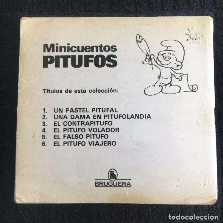 Tebeos: Minicuentos Pitufos nº 4 - El Pitufo Volador by PEYO, ed. Bruguera 1981 - Foto 4 - 174282804