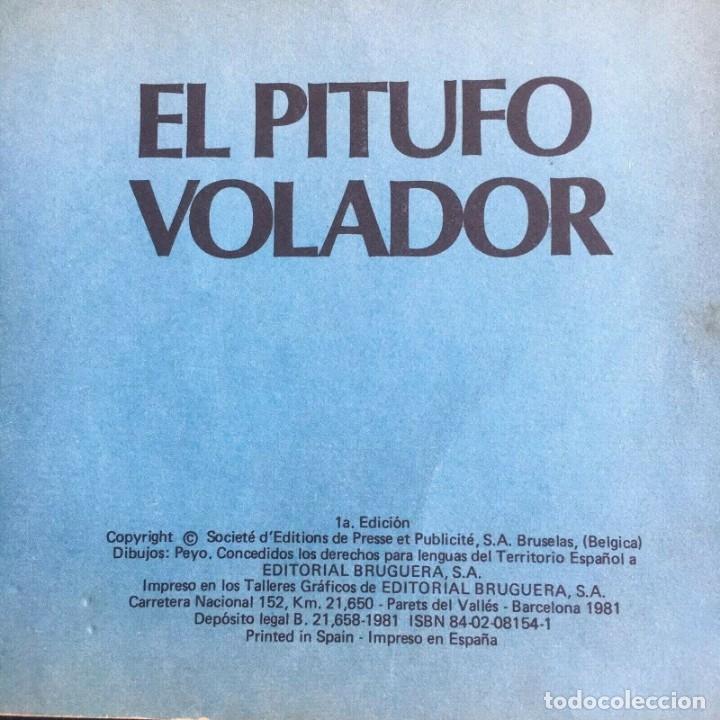 Tebeos: Minicuentos Pitufos nº 4 - El Pitufo Volador by PEYO, ed. Bruguera 1981 - Foto 5 - 174282804