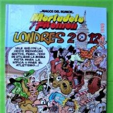 Tebeos: MAGOS DEL HUMOR, Nº 151 MORTADELO Y FILEMÓN. LONDRES 2012. EDICIONES B. 1ª EDICIÓN.. Lote 174324298