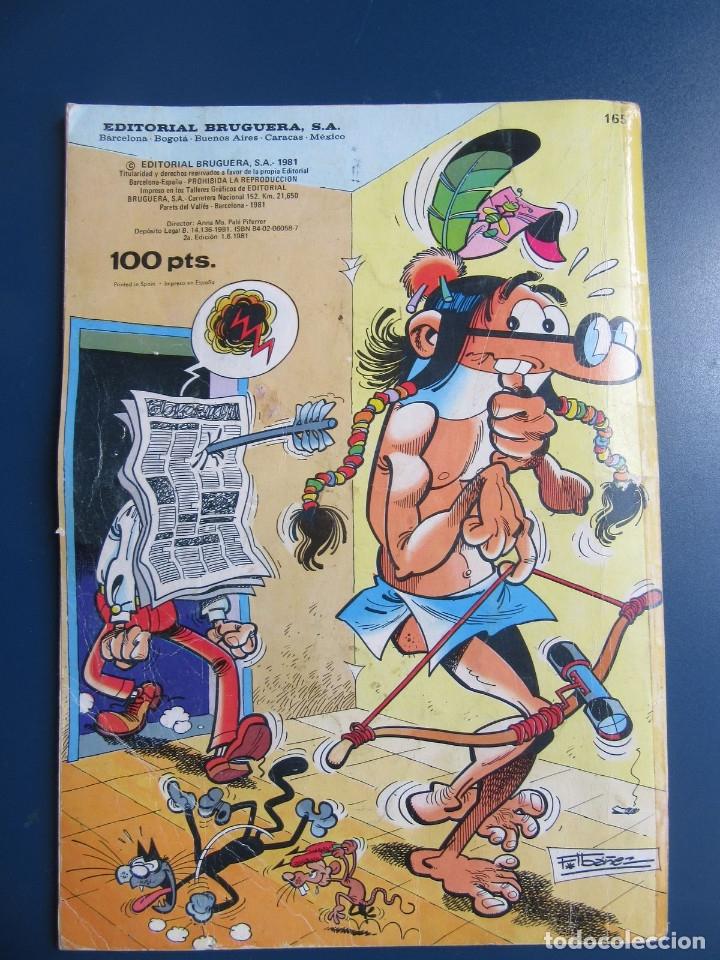 Tebeos: Colección Olé. Mortadelo y Filemón con El Botones Sacarino. Nº 165. 2ª edicón 1981. - Foto 2 - 174365395