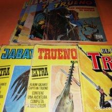 Tebeos: CAPITAN TRUENO. LOTE 5 Nº ALBUM COLOR. Nº 23 TRUENO COLOR. Nº 3 Y 37 JABATO COLOR Y EL REGRESO . Lote 174455414