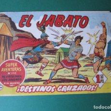 Tebeos: JABATO, EL (1958, BRUGUERA) 86 · 6-VI-1960 · DESTINOS CRUZADOS. Lote 174498132