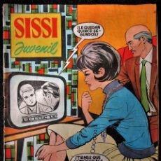BDs: SISSI JUVENIL Nº 113 - AL DORSO MYLENE DEMONGEOT - BRUGUERA 1961. Lote 174533688