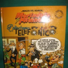 Tebeos: MAGOS DEL HUMOR Nº 55. MORTADELO Y FILEMON. EL PINCHAZO TELEFONICO. EDICIONE B 1994.. Lote 174552694