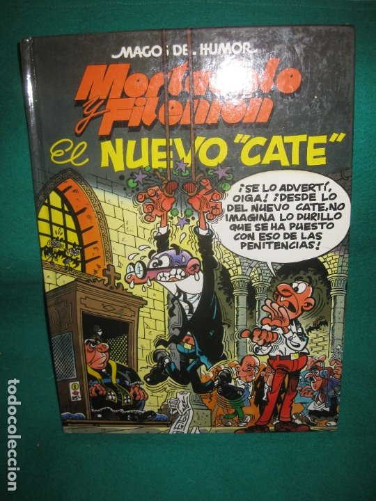 MAGOS DEL HUMOR Nº 50. MORTADELO Y FILEMON. EL NUEVO CATE. EDICIOONES B 1ª ED. MARZO 1993. (Tebeos y Comics - Bruguera - Mortadelo)