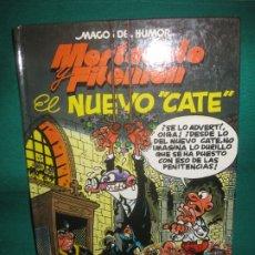 Tebeos: MAGOS DEL HUMOR Nº 50. MORTADELO Y FILEMON. EL NUEVO CATE. EDICIOONES B 1ª ED. MARZO 1993.. Lote 174552842